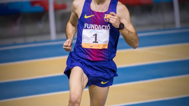 Artur Bossy i Dayane Huerta Campions de Catalunya 3.000m PC