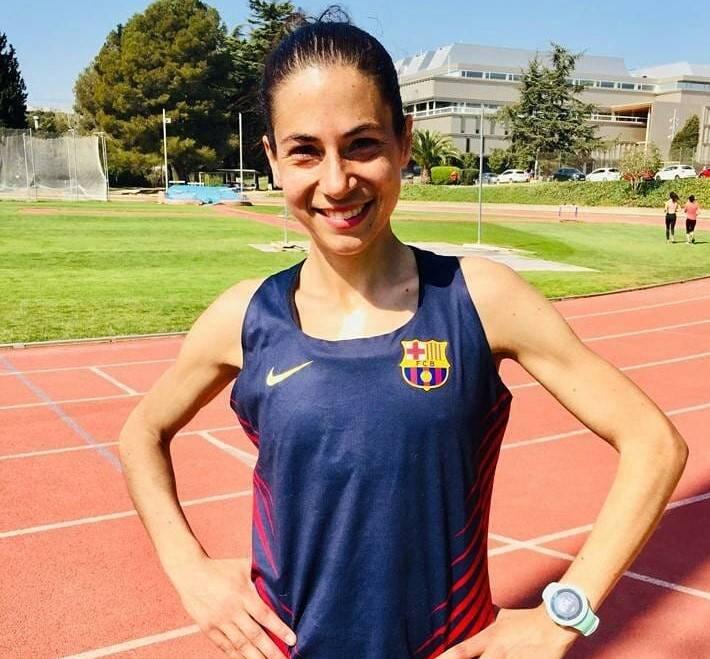 Marta Galimany a la Marathon Rotterdam