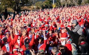 Èxit en la primera edició de la cursa Pare Noel