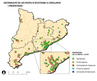 un TFG ens mostra l'estat de les pistes catalanes