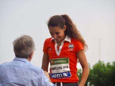 Sara Gallego continua entrenant al peu del canó