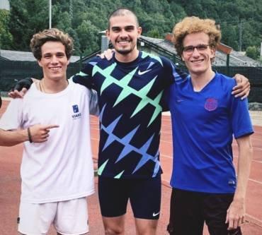 Andorra celebra el seu absolut amb rècord d'Hortelano