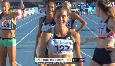 Esther Guerrero 2:00.56 RCAT!