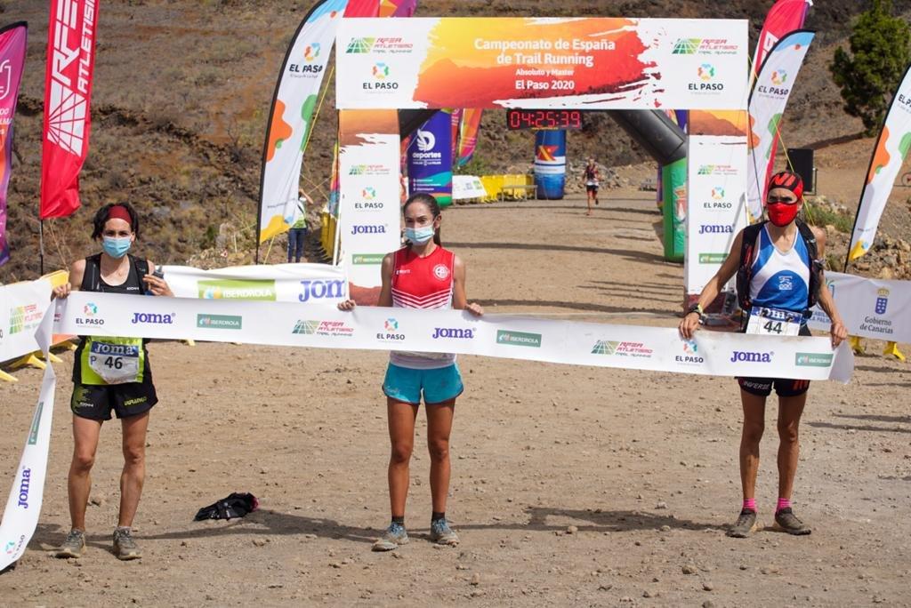 Dues catalanes, Gisela Carrión Bertran (CE Penedès) i Marta Molist Codina (CA Granollers) al podi del campionat d'Espanya trailrunning 2020