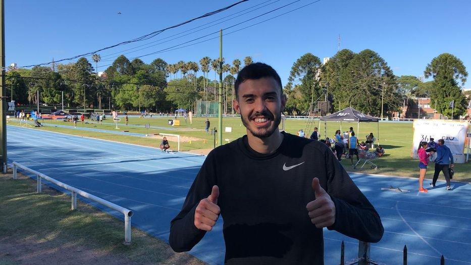 Santiago Catrofe Campió d'Uruguai