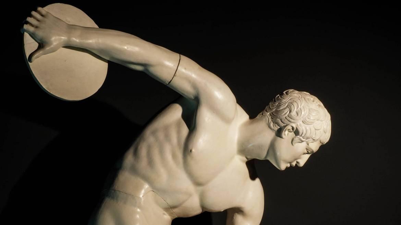 Atletisme en temps dels grecs (1): competir totalment nu